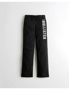 Mid Rise Flare Sweatpants by Hollister
