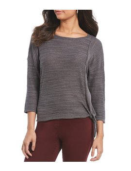 Asymmetric Tie Front Top by Westbound