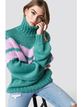 Knitted Polo Jumper by Glamorous