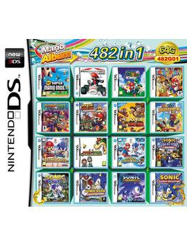 Nds 482 En 1 Cartucho De Juego Mario Multicart Para Nintendo Ds Ndsl Nd Si 3 Ds 2 Ds Xl by Ebay Seller