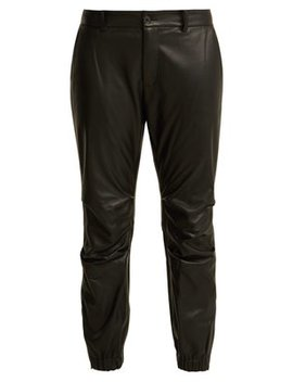 Cropped Leather Trousers by Nili Lotan