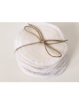 Reusable Cotton Rounds 10 Washable Organic Bamboo Makeup Remover Facial Toner Pads by Etsy