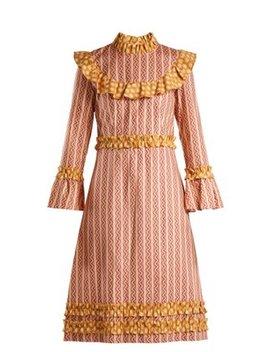 Ruffled Cotton Dress by Batsheva