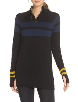 Merino Quarter Zip Top by Sweaty Betty