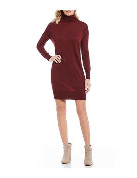 Izzy Turtleneck Sweater Dress by Cremieux