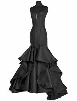 Scarisee Women's Sweetheart Mermaid Prom Evening Party Dresses Tiered Formal Sa51 by Scarisee