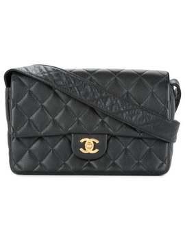 Quilted Cc Shoulder Bag by Chanel Vintage
