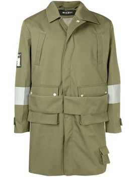 Concealed Fastening Military Coat by Misbhv
