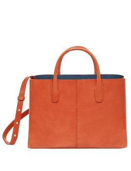 Brandy Folded Bag by Mansur Gavriel