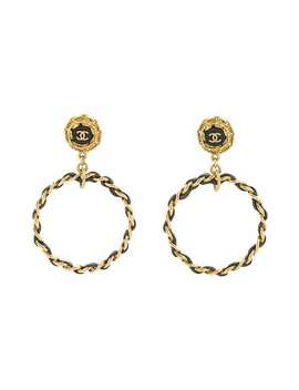 Chanel Cc Logos Earrings by Chanel Vintage