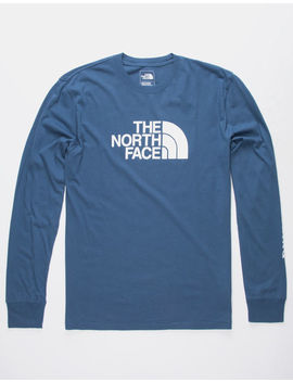 The North Face Well Loved Half Dome Navy Mens T Shirt by The North Face