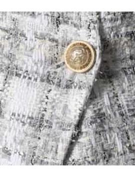 Exclusivo En Mytheresa – Blazer De Tweed De Doble Botonadura by Balmain
