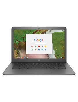"Hp 14 Ca004na Chromebook, Intel Celeron, 4 Gb Ram, 32 Gb E Mmc, 14"", Grey, Grey by Hp"
