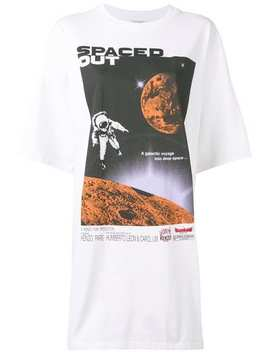 Spaced Out T Shirt Dress by Kenzo