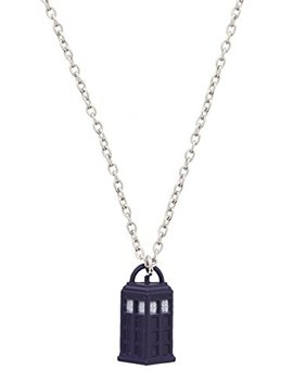 Doctor Who Tardis Necklace by Doctor Who