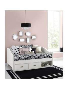 Hillsdale Tinley Park Twin Daybed With Storage, Soft White by Hillsdale Kids And Teen