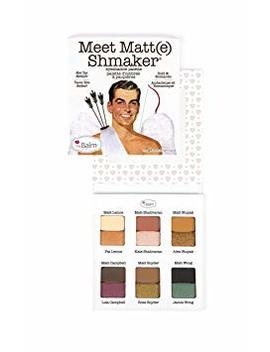 The Balm Meet Matt(E) Shmaker by Thebalm Cosmetics