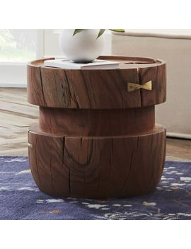 Belsize Large Stool by Crate&Barrel
