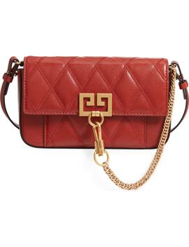 Mini Pocket Quilted Convertible Leather Bag by Givenchy