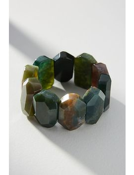 Jasper Stretch Bracelet by Anthropologie