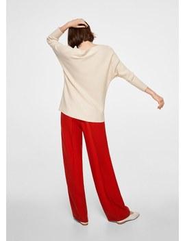 Oversize Sweater Made Of Fine Knit by Mango