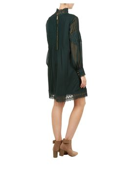 Anneah High Neck Lace Long Slv Tunic by Ted Baker