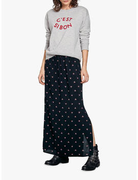 Hush Yasmin Skirt, Black/Silver by Hush