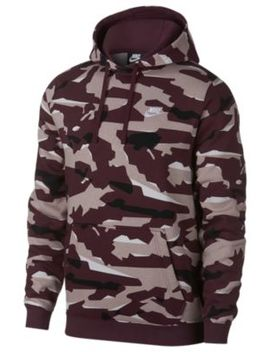Nike Club Camo Pullover Hoodie   Men's by Nike