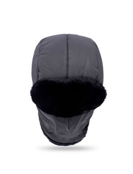 Winter Trooper Hat With Windproof Mask Ski Cap Trapper Aviator Bomber Ear Flap by Unbranded