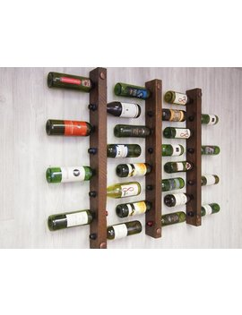 Tuscan Wine Racks, Set Of 3   8 Bottles Each by Etsy