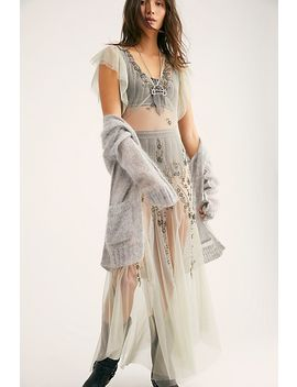 Annabelle Embroidered Maxi Slip by Free People