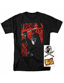 Popfunk Friday The 13th Horror Movie T Shirt & Stickers by Popfunk