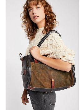 Mixed Material Duffle by Free People