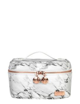 Carrara Grey Louise Travel Case by Stephanie Johnson
