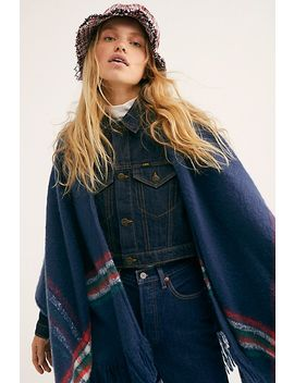 Wren Plaid Blanket Wrap by Free People