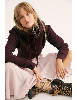Maddux Jersey Turtleneck Hoodie by Free People