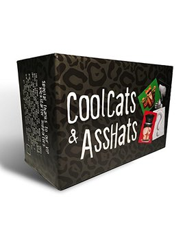 Cool Cats & Ass Hats   Adult Drinking Card Game For Parties by Cool Cats & Ass Hats