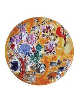 Marc Chagall Joseph Tribe Seder Platter by Bernardaud