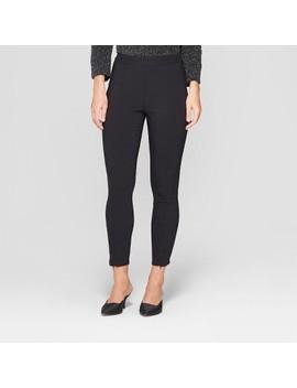 Women's Skinny Zip Crop Pants   Who What Wear™ by Who What Wear