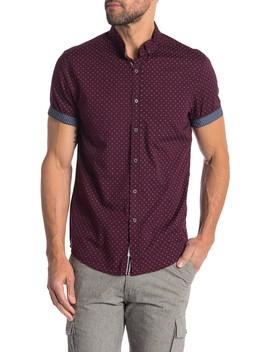 Geo Print Slim Fit Shirt by Heritage