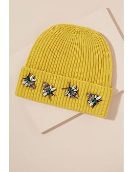 Embellished Wool And Cashmere Blend Beanie by Anthropologie