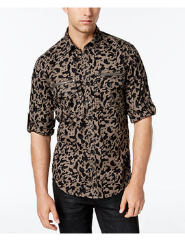 I.N.C. Men's Yesterday Shirt, Created For Macy's by Inc International Concepts