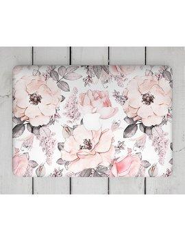 """Roses Watercolor Mac Book Air 15 Inch Pink Flower Decal Skin Mac Book Pro 13 Mac Book Pro 2017 Mac Book 11 Skin Mac Book 12 Sticker Mac Book Pro """" by Etsy"""