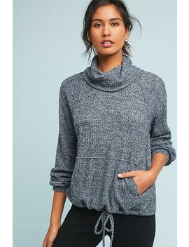 Delaunay Cowl Neck Pullover by Anthropologie