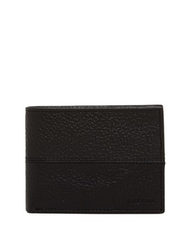 Pebble Leather Slim Billfold Wallet by Cole Haan