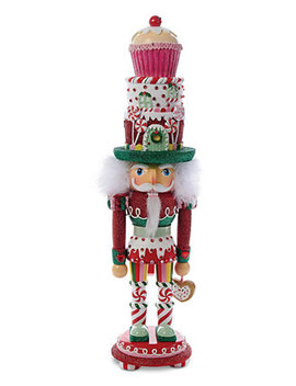 Hollywood Nutcracker Cupcake And Sweets by Kurt Adler