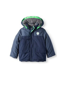 Colorblock Parka Coat (Baby Boys, Toddler Boys) by Child Of Mine By Carter's