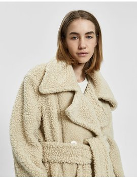 Teddy Upscale Coat by House Of Sunny