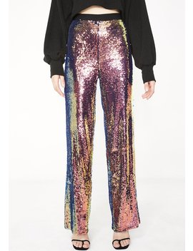 Flashy Fever Sequin Pants by Rehab
