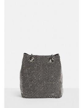 Black Embellished Bag by Missguided